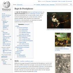 Rapt de Perséphone
