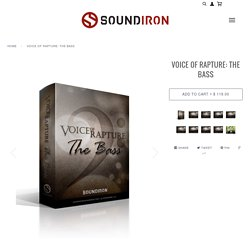 Voice Of Rapture: The Bass - solo male opera vocal library for Kontakt – Soundiron