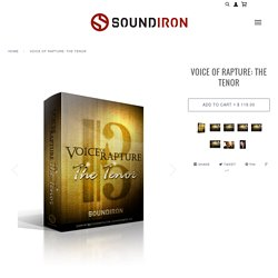 Voice Of Rapture: The Tenor solo male opera vocal library for Kontakt – Soundiron
