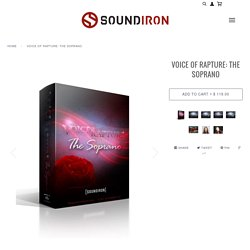 Voice Of Rapture: The Soprano - solo female opera vocals for Kontakt – Soundiron