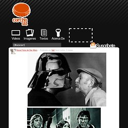 Raras Fotos de Star Wars