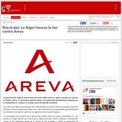 2012 Le Niger s'énerve contre Areva
