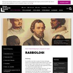 Rasbiologi