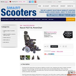 Rascal P327/XL PowerChair