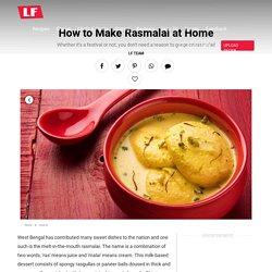 Luscious Rasmalai Recipe