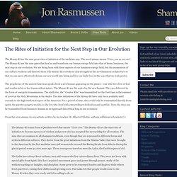 Jon Rasmussen - Shamanic Healing, Ceremony and Travel