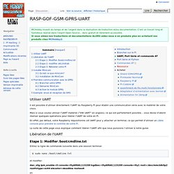 RASP-GOF-GSM-GPRS-UART