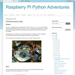 Raspberry Pi Python Adventures: PyHacking step by step