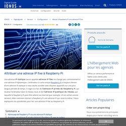Attribuer une adresse IP fixe à Raspberry Pi - IONOS