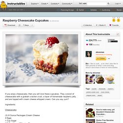 Raspberry Cheesecake Cupcakes - StumbleUpon