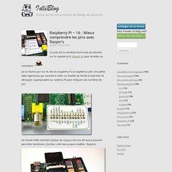 Raspberry PI ~ 16 : Mieux comprendre les pins avec Raspin's