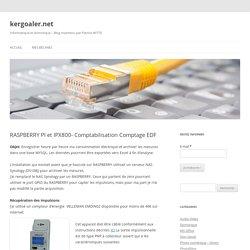 RASPBERRY PI et IPX800- Comptabilisation Comptage EDF