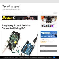 Raspberry Pi and Arduino Connected Using I2C