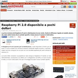 Raspberry Pi 2.0 disponibile a pochi dollari