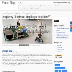 Raspberry Pi: Infrarot Empfänger betreiben - Vitech Blog