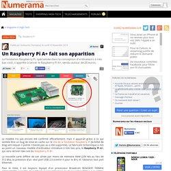 Un Raspberry Pi A+ fait son apparition