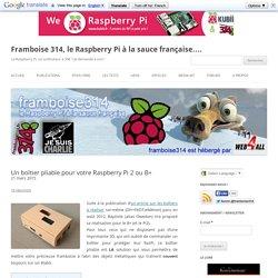 Un boîtier pliable pour votre Raspberry Pi 2 ou B+