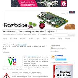 Prenez la main à distance sur votre Raspberry Pi avec VNC