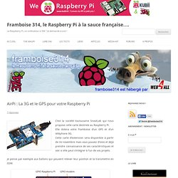 AirPi : La 3G et le GPS pour votre Raspberry Pi