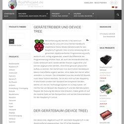Raspberry Pi Projekte - Gerätetreiber und Device Tree