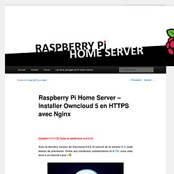 Raspberry Pi Home ServerRaspberry Pi Home Server