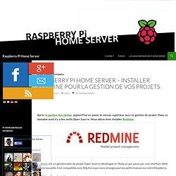 Installer Redmine pour la gestion de vos projets