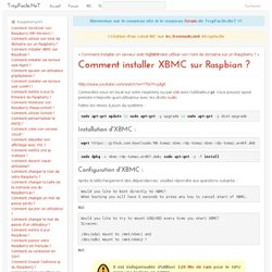 comment-installer-xbmc-sur-raspbian