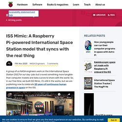 ISS Mimic: A Raspberry Pi-powered International Space Station model that syncs with the real thing