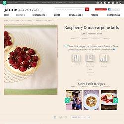 raspberry & mascarpone tarts