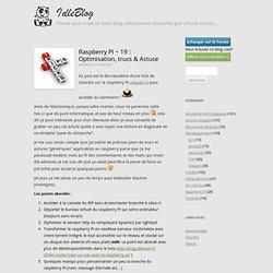 19 : Optimisation, trucs & Astuce
