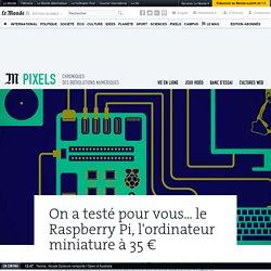 On a testé pour vous… le Raspberry Pi, l'ordinateur miniature à 35euros