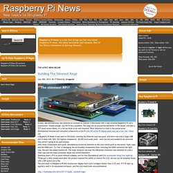 Raspberry Pi News
