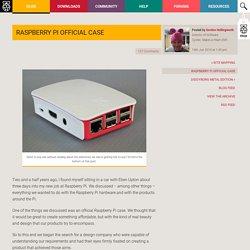 Raspberry Pi Official Case - Raspberry Pi
