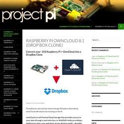 Raspberry Pi OwnCloud 8