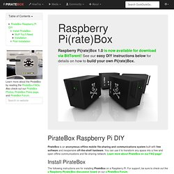 raspberry_pi [ PIRATEBOX]