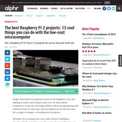 Raspberry Pi projects: the 12 best
