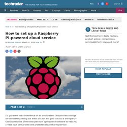 How to set up a Raspberry Pi-powered cloud service