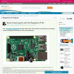 Raspberry Pi Projects: Build a board game with