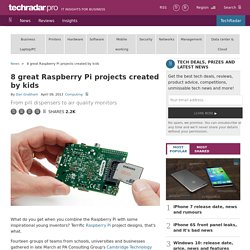 8 great Raspberry Pi projects created by kids