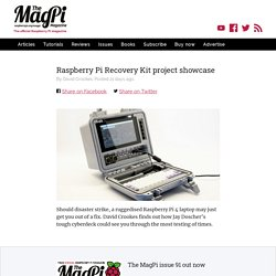 Raspberry Pi Recovery Kit project showcase — The MagPi magazine