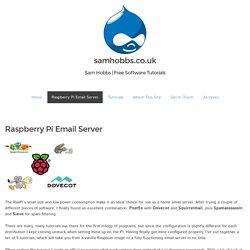 Raspberry Pi Email Server