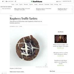 Raspberry Truffle Tartlets - StarTribune.com