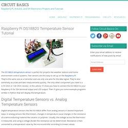 Raspberry Pi DS18B20 Temperature Sensor Tutorial - Circuit Basics