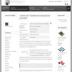 Raspberry Pi Projekte - 1wire mit Temperatursensor DS18B20
