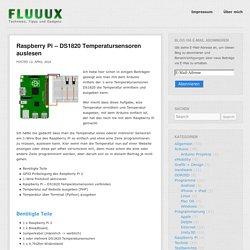 Raspberry Pi – DS1820 Temperatursensoren auslesen