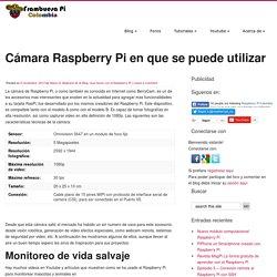 Cámara Raspberry Pi en que se puede utilizar - Frambuesa Pi