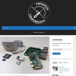 Headless Raspberry Pi Setup with Raspbian Jessie – Frederick Vandenbosch