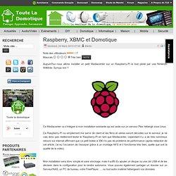 Raspberry, XBMC et Domotique