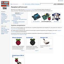 RaspberryPi-Accueil