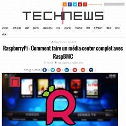 RaspberryPi - Comment faire un média-center complet avec RaspBMC